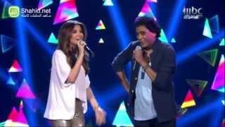 getlinkyoutube.com-Arab Idol - محمد منير ونانسي عجرم - حارة السقايين