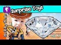 DIAMOND Dig It Surprise Toys! Gold Hunt by Toy Story Woody + Gems HobbyKidsTV
