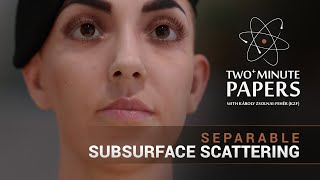 getlinkyoutube.com-Two+ Minute Papers - Separable Subsurface Scattering