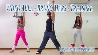 getlinkyoutube.com-Video Aula - Passo a Passo - Bruno Mars - Treasure Cia. Daniel Saboya Coreografia