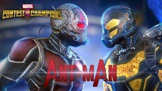 getlinkyoutube.com-Ant-man el Hombre Hormiga en Marvel Batalla de Superhéroes