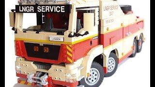 getlinkyoutube.com-LEGO Technic Motorized MAN TGS Tow Truck