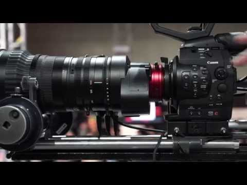 Canon 50 1000mm Cine Servo Lens At InterBee 2014