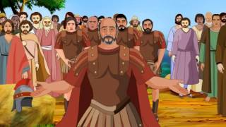 getlinkyoutube.com-Bible stories for kids - Jesus Heals the Centurion's Son ( English Cartoon Animation )