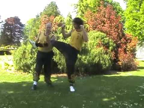Groin Kick Defence