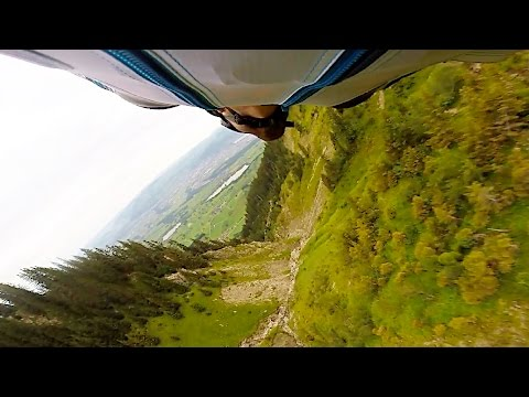 Stockhorn Wingsuit BASE | Left Trench Line by Wes Burrows