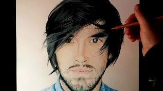 getlinkyoutube.com-Dibujando a Youtubers | HolaSoyGerman - JuegaGerman