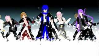 getlinkyoutube.com-[MMD] One Two Three - Vocaloid boys