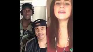 getlinkyoutube.com-Am I wrong smule duet with Nico and Vinz by Esra