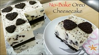 getlinkyoutube.com-No-Bake Oreo Cheesecake [in English]