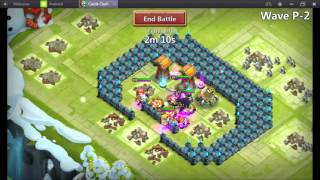 getlinkyoutube.com-Castle Clash TH 15 hbm P half loaf base