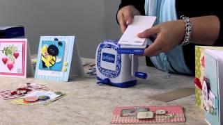 getlinkyoutube.com-Spellbinders NEW Sapphire Die Cutting & Embossing Machine