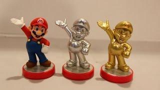 getlinkyoutube.com-Silver Mario Amiibo Unboxing/Review