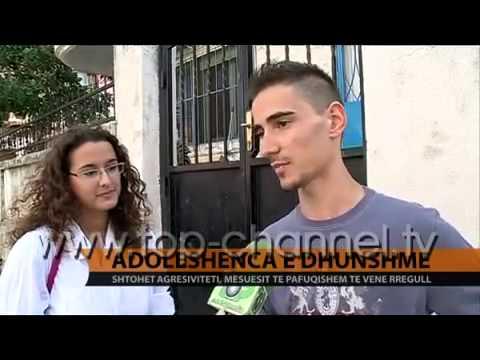 Adoleshenca e dhunshme   Top Channel Albania   News   Lajme   YouTube