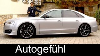 getlinkyoutube.com-THE AUTHORITY: New Audi S8 Plus FULL REVIEW V8 605 hp test driven - Autogefuehl