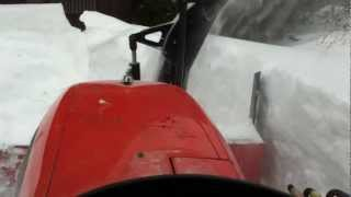 getlinkyoutube.com-kubota moves big drift storm nemo maine part 2