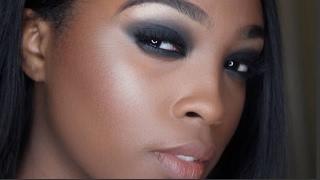 getlinkyoutube.com-Smokey Eye Natural Face Makeup Tutorial