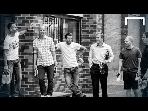 Beckham, Giggs and Scholes star in Manchester United Class of '92 film
