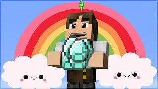 getlinkyoutube.com-Minecraft The Sims #33: O Paraíso dos Diamantes!