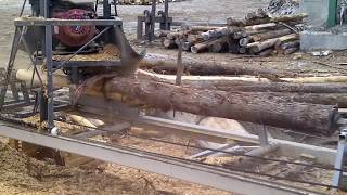 CEDAR LOG LATHE