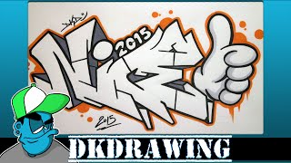 getlinkyoutube.com-How to draw graffiti letters nice step by step