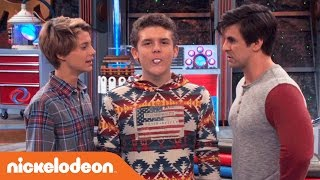 getlinkyoutube.com-Henry Danger | Jasper's Initiation into the Man Cave | Nick