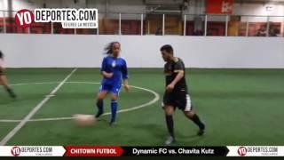 Dynamic FC vs. Chavita Kutz Chitown Futbol Thursday COED League