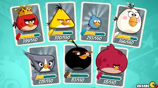 getlinkyoutube.com-Angry Birds 2 - Level 161 - 165 Cobalt Plateaus Greenerville Walkthrough!