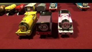 12 Custom Trackmaster Thomas Trains