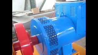 getlinkyoutube.com-30kw Francis turbine generator off grid unit