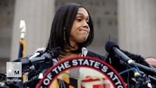 getlinkyoutube.com-'I have heard your calls': The Baltimore prosecutor lays out the charges | Mashable