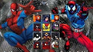 getlinkyoutube.com-The Amazing Spider-Man: Symbiote - Lethal Foes M.U.G.E.N (WIP)