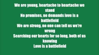 "getlinkyoutube.com-""Love is a Battlefield"" by: Pat Benatar *Lyric Video*"