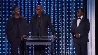 getlinkyoutube.com-Samuel L. Jackson, Denzel Washington and Wesley Snipes honor Spike Lee at the 2015 Governors Awards
