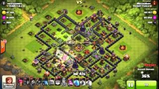 getlinkyoutube.com-[RAID] TH9 Versus Chief Pat's Base in Champions League