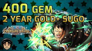 getlinkyoutube.com-400 Gem, 2 Year Anniversary Sugofest Day 3 - Guaranteed Golds! [One Piece Treasure Cruise]