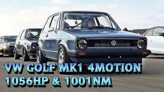 getlinkyoutube.com-VW Golf Mk1 1056HP Meschede 2015 9,9s 252kmh street race car