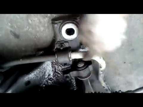 Peugeot 407 снятие рулевой рейки. (Часть 2)