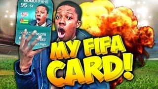 getlinkyoutube.com-OMFG I HAVE MY OWN FIFA 15 CARD ! DAAAAAAMNNNNN