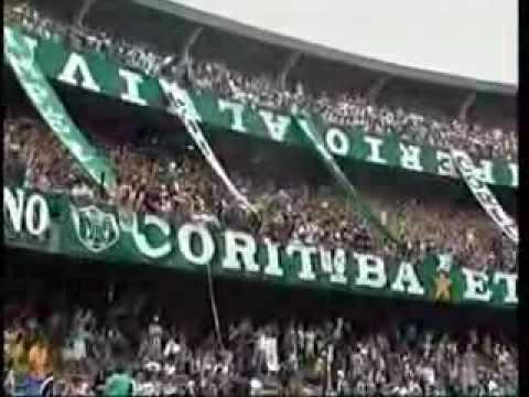 Matéria jogo Coritiba x Criciuma 2007 Couto Pereira