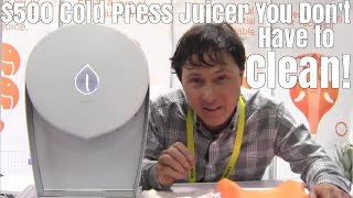 getlinkyoutube.com-$400 Cold Press Juicer You Don't Have to Clean