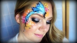 getlinkyoutube.com-Pretty Fairy Makeup and Face Painting