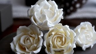 getlinkyoutube.com-How to Make a Sugar Rose; A McGreevy Cakes Tutorial