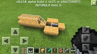 getlinkyoutube.com-Como Crear Un Carro Minecraft Pe 0.14.0
