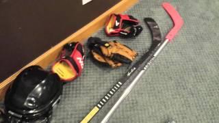 getlinkyoutube.com-Mini hockey rink