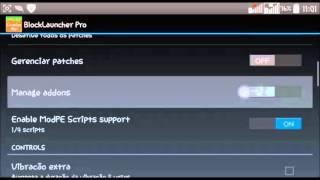 getlinkyoutube.com-MCPE » Block Launcher Pro... Mod Too Many Items... Textura Alvoria...