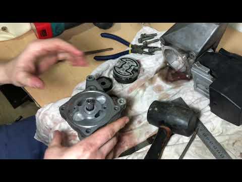Как заменить ремкомплект на гидроусилителе и прокачать систему ГУРа Mercedes-Benz W140 рестайлинг