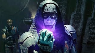 Ronan Challenges Thanos Scene - Guardians of the Galaxy (2014) IMAX Movie CLIP HD width=