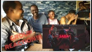 SABA by ETHIC || Official Group Reaction