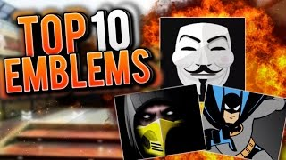 "getlinkyoutube.com-Top 10 ""BLACK OPS 3 EMBLEMS"" #1 IS AWESOME! Ep.1 (Top 10 - Top Ten)"